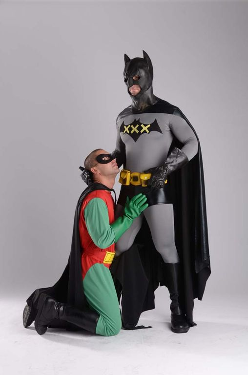Apologise, but, batman and robin spoof porno
