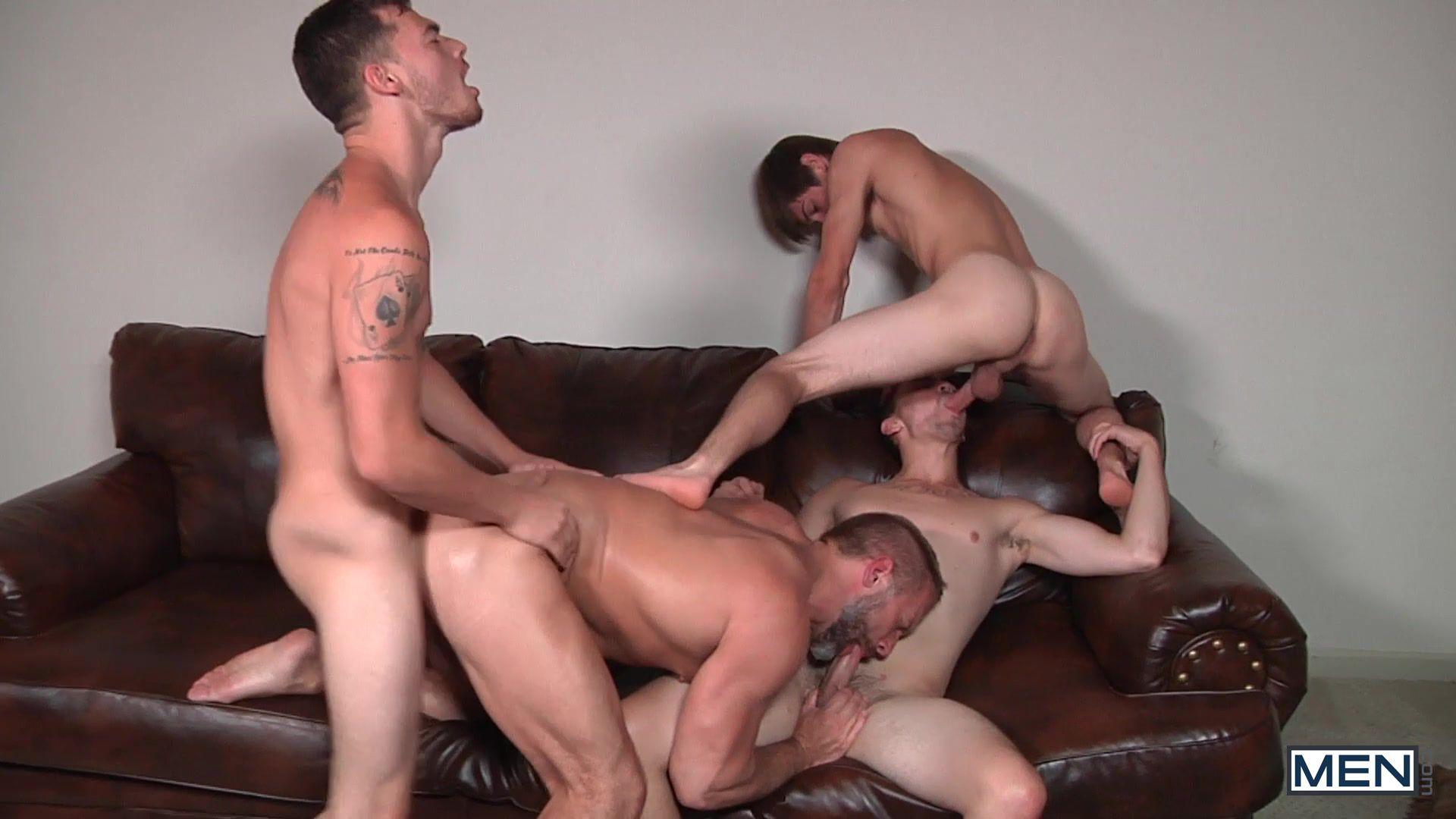 Triple penetration files fucking hot