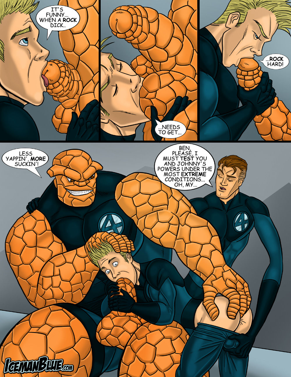 Sexy nude fantastic 4 cartoon pix exploited photo
