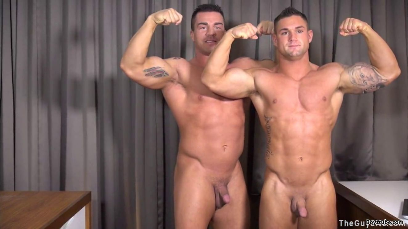 hot gay couple moun in ecstacy