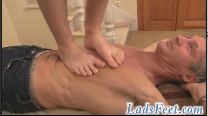 Gay foot trample, swollen anus small stools
