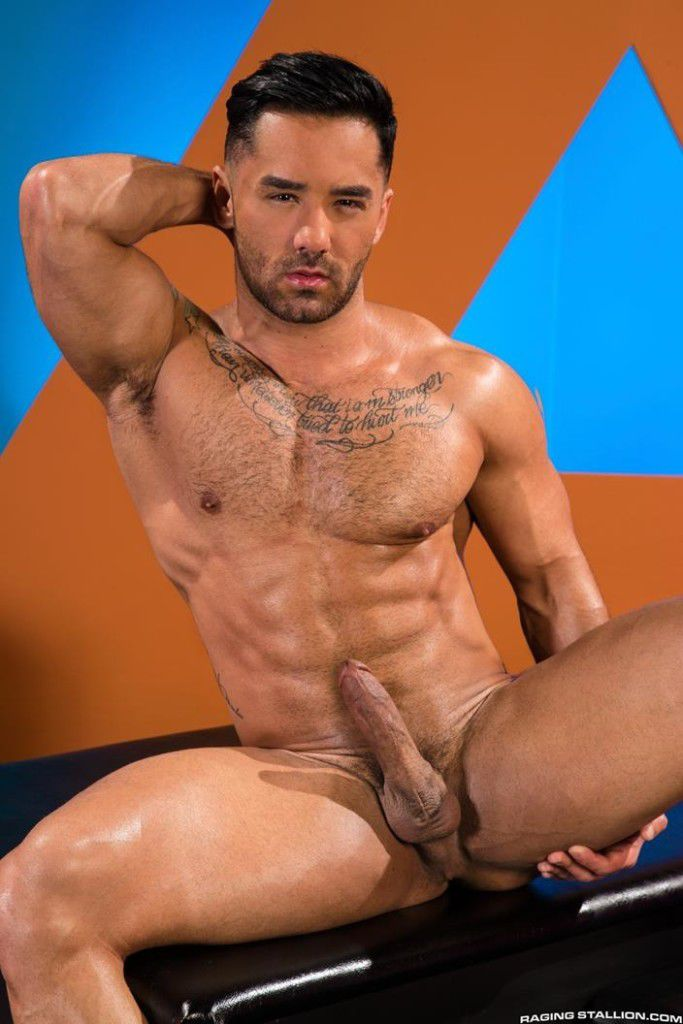 Well hung hairy men