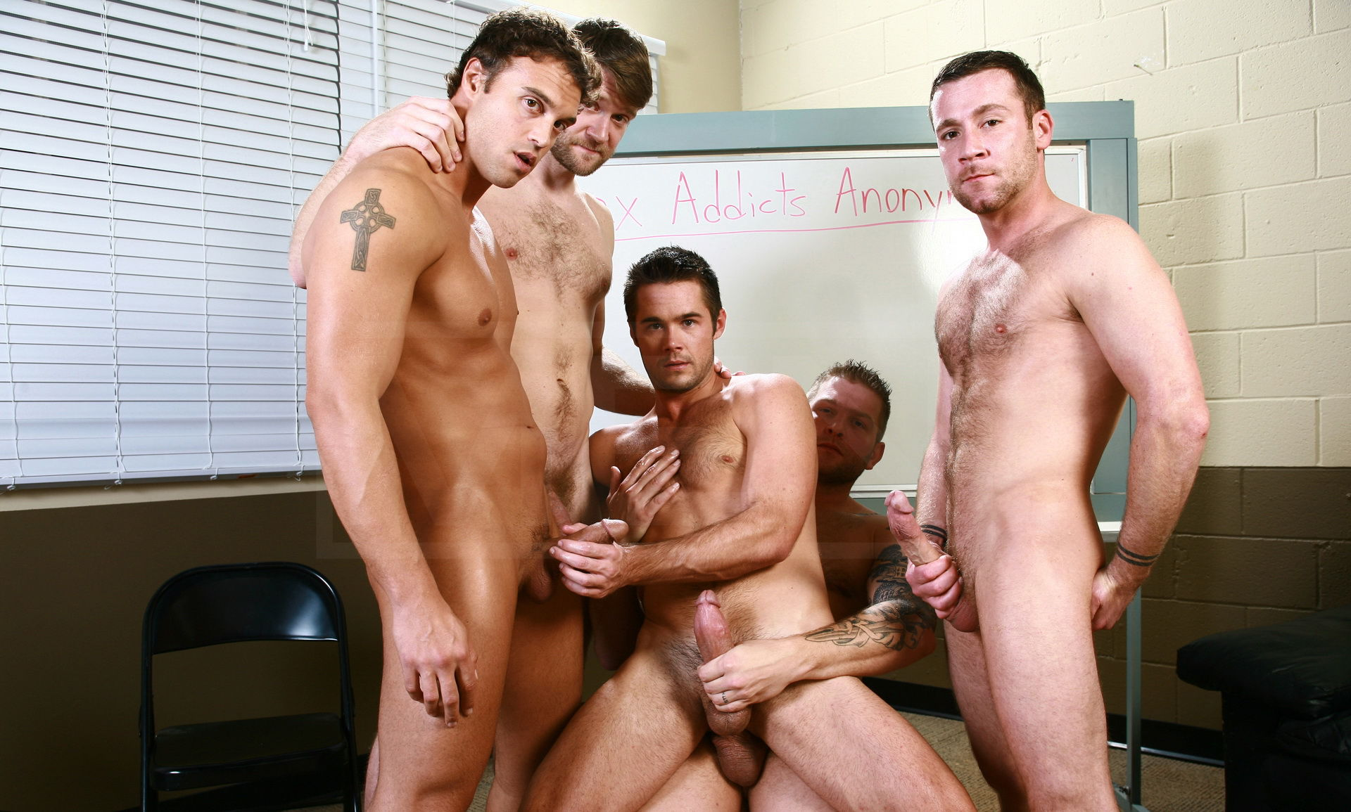 Group sex men nude — 13