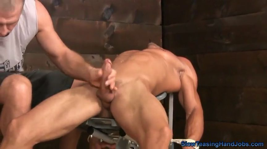 Gay handjobs slow teasing