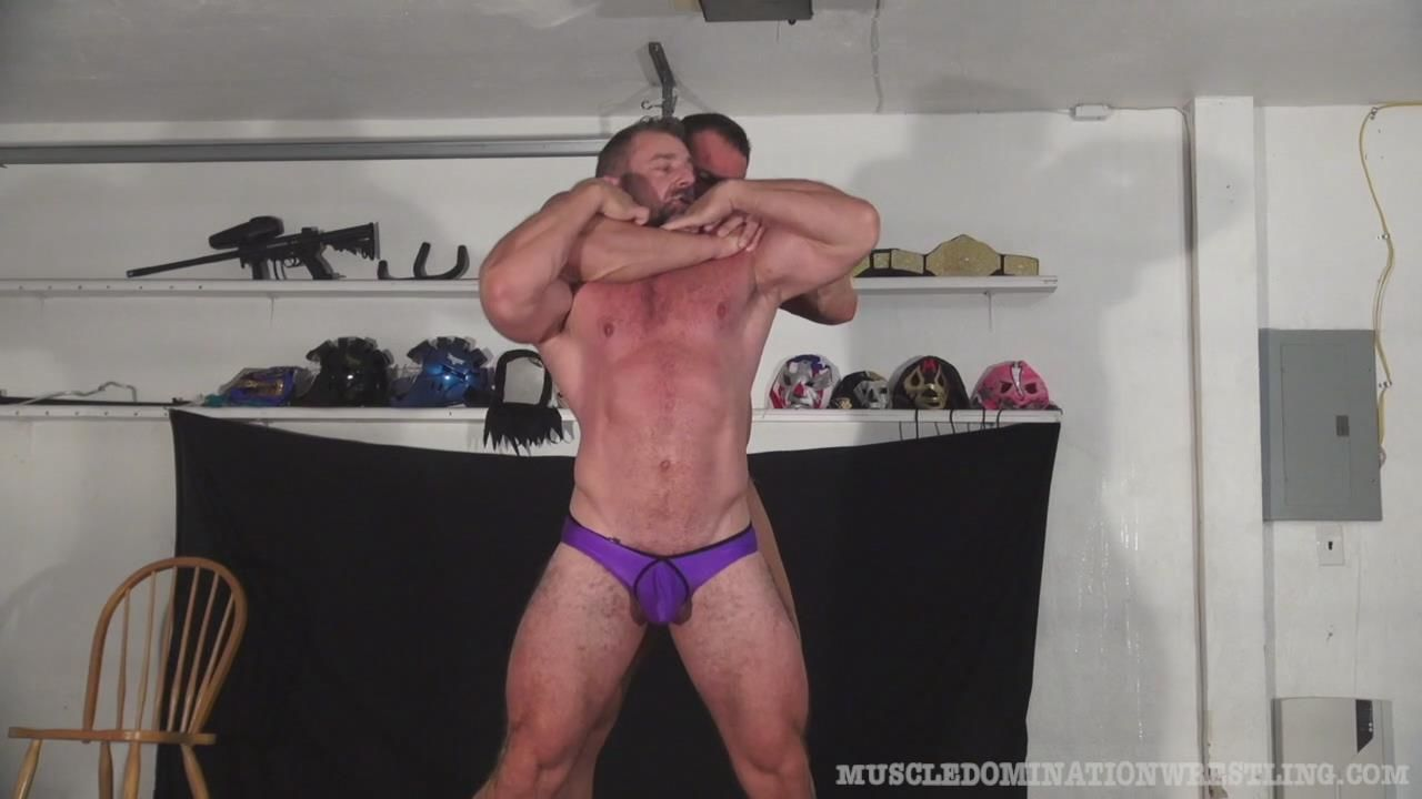 gay muscle wrestling